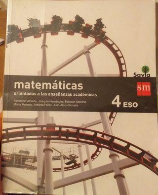 Libros de biología, matemáticas y TIC