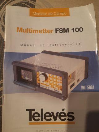 Medidor de campo FSM100 DIGITAL Y ANALOGICO