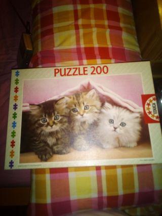 Puzzle de gatitos.