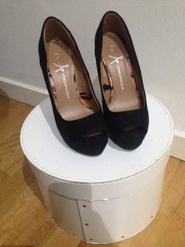 Black Salon Shoes