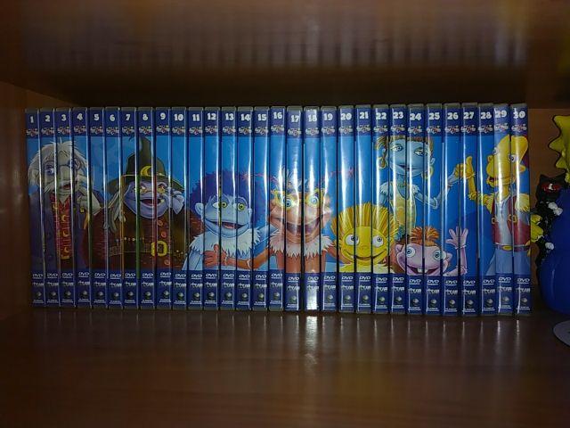 Libros y dvd's de los lunnis