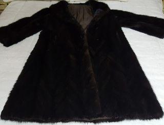 Abrigo largo de Vison - Bison