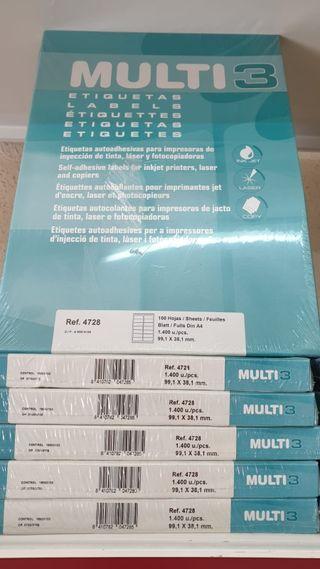 Etiquetas Impresora