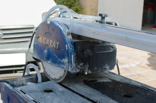 Máquina de corte de azulejos por agua
