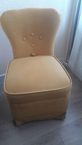 sillón bajo descalzador