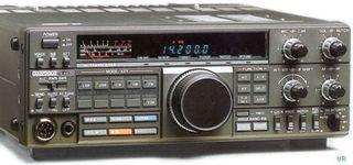 KENWOOD TS 440 SAT con acopl.automatico.interno