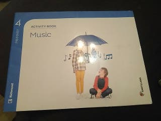Activity book music