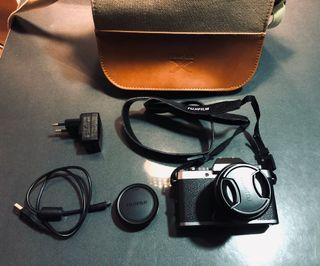 cámara Fujifilm XT100 Como nueva + bolso