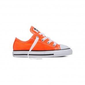 Converse naranja flúor