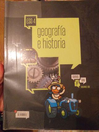 Libro historia y geografía