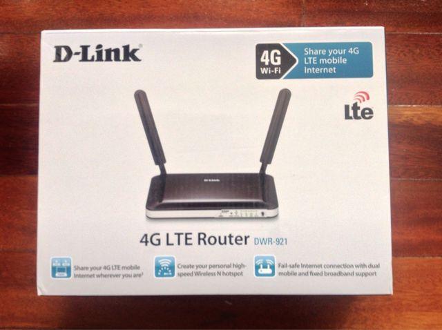 D-link router 4G DWR-921