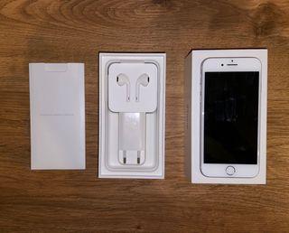 iPhone 7 plata 128 gb