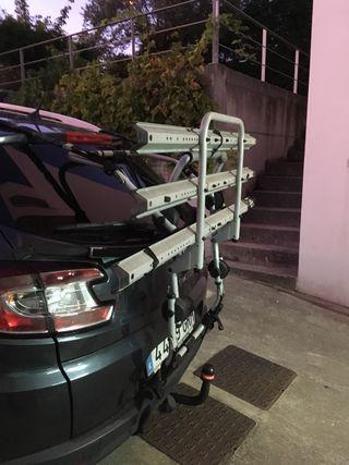 Portabicicletas para portón trasero