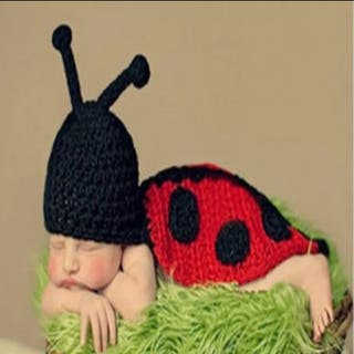 Disfraz mariquita bebé lsna