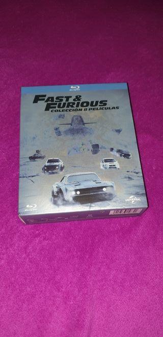 Fast & Furious(Colección 8 películas)