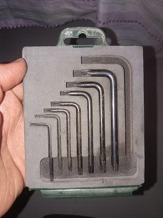llaves acodadas torx