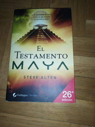 Novela: El testamento maya