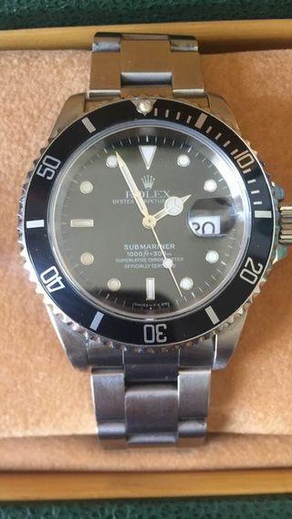 Rolex - Submariner - 16610 - Unisexe - 1990-1999 A