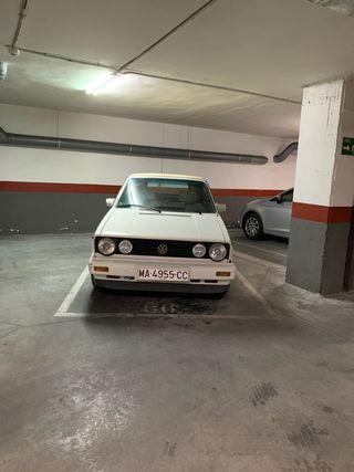 Volkswagen Golf mkII cabrio 1989