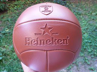 Pelota futbol Heineken nueva