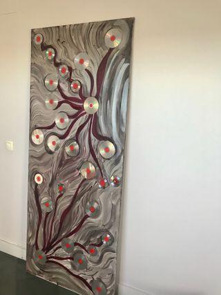Cuadro lienzo para puerta 190x80cm
