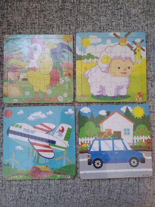 puzzles de madera Niños