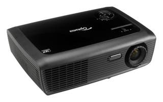 Se vende proyector Optoma DLP negro.
