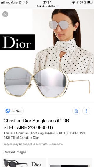 Gafas del sol Dior nueva collection
