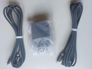 Cargador 2 puertos USB Iphone/Ipad [NUEVO]