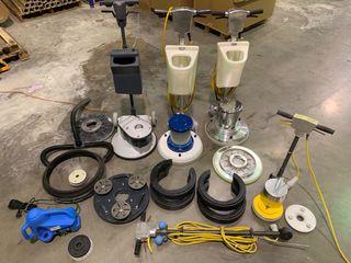 Vendo lote máquinas pulidora suelo profesionales