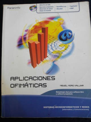 Libros de ciclo formativo grado medio, informática