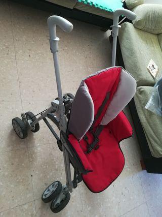 carrito bebé 3 piezas(carro + capazo + maxi cosi)