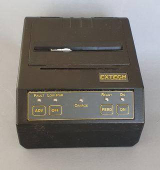 Impresora de tickets portátil EXTECH S2000i.