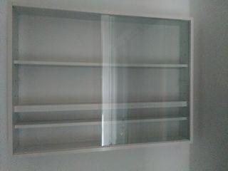vitrina pared nueva