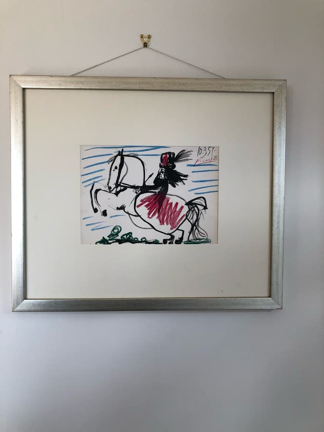 Lithography by Picasso