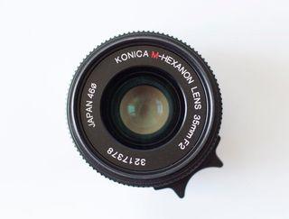 KONICA 35mm F2 para Leica M