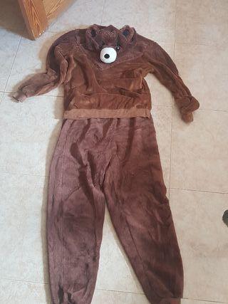pijama de OSO. caliente para el invierno
