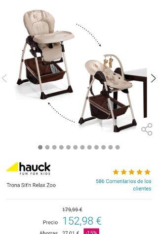 Trona/hamaca Hauck