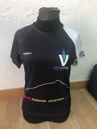 Camiseta carrera Entrevalls