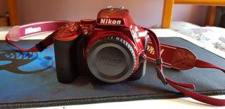 cámara réflex profesional nikon d5500