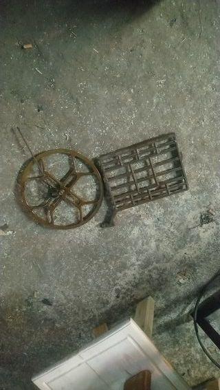 pedal y polea
