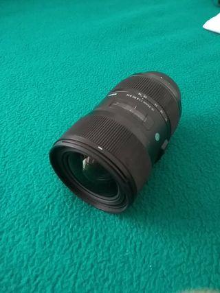 Objetivo Sigma 18-35mm F/1.8 Nikon