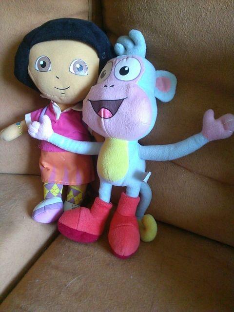 Mickey y Minnie, Dora, Peppa Pig, Caillou