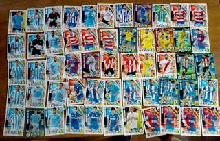 55 cromos adrenalyn 2015-16