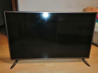 televisión LG 43 pulgadas