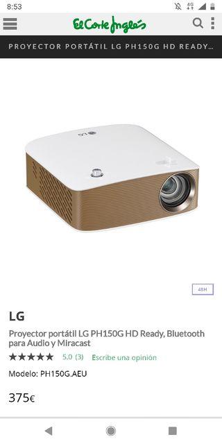 proyector portátil LG precintado