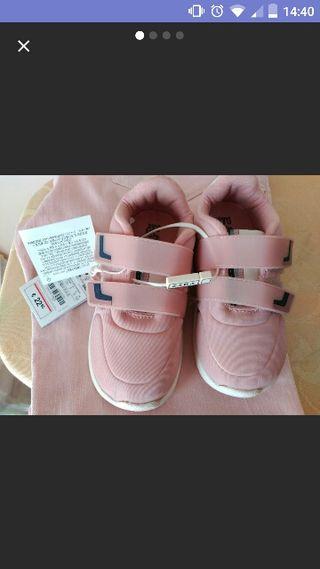 zapatillas niña zara n 25