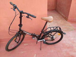 "Bicicleta Megamo Plegable Zambra Maxi 24"""