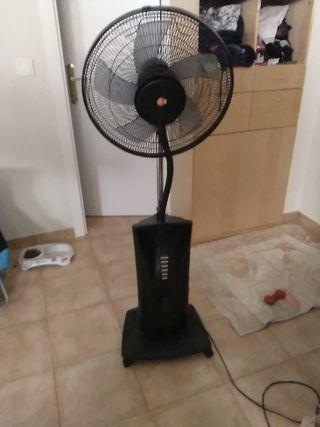ventilador con humidificador
