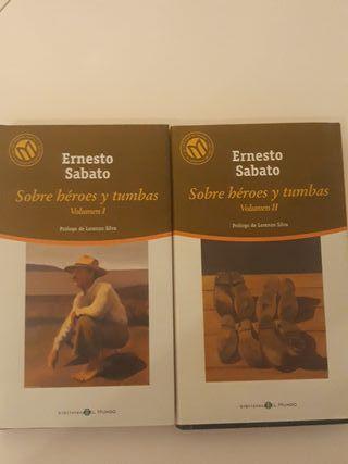 Sobre héroes y tumbas 1 y 2 de Ernesto Sábado